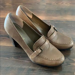 Franco Sarto loafer pump